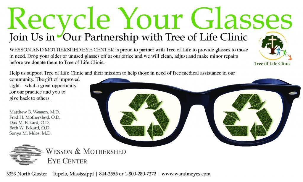 Wesson and Mothershed - Recycle Glasses